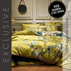 Duvet Cover Set Egyptian Cotton 1200 TC